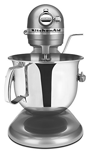 KitchenAid Professional 6000 HD KSM6573CCU Stand Mixer, 6 Quart, Contour Silver (Kitchenaid Stand Mixer 6000 compare prices)