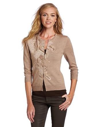(2.7折)Trina Turk Women's Saboteur Cardigan女士100%羊毛开衫 两色$79.40