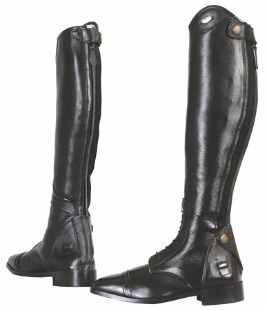 Tuffrider Regal Field Boots Ladies 6 W Black