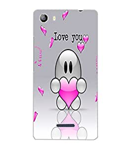 MICROMAX CANVAS 5 LOVE YOU Back Cover by PRINTSWAG