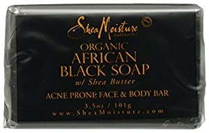 SheaMoisture African Black Soap Facial Bar Soap - 3.5 oz