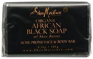 SheaMoisture African Black Soap Facial Bar Soap - 3.5 oz