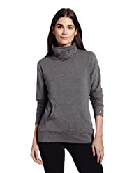Danskin Women's Funnel Neck Pull Over