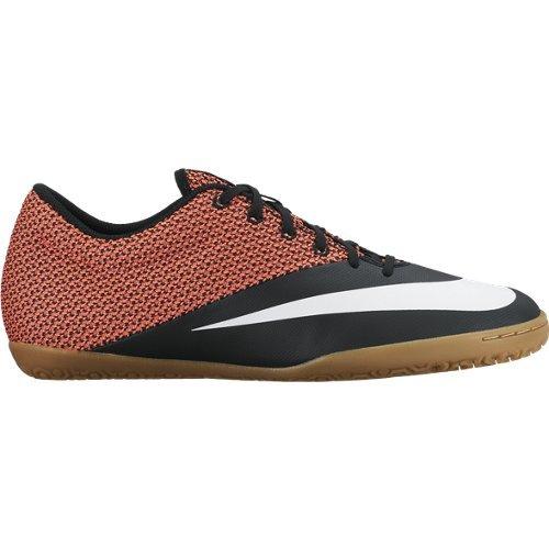 Nike Mercurialx Pro Street IC-Stivali classici da uomo, colore: nero/giallo/bianco Nero Size: 42