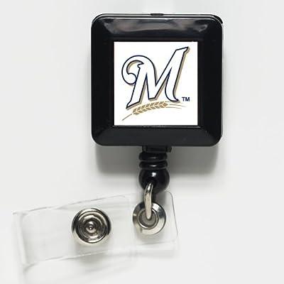 MLB Milwaukee Brewers 15305031 Retractable Badge Holder