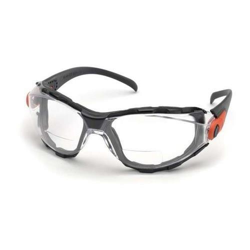 Elvex Go-Specs EVA Foam Lined RX Bifocals, Anti-Fog, PC Lens