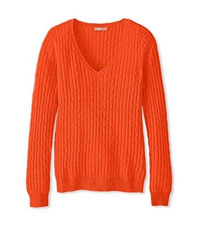 Kier & J Women's Cashmere V-Neck Sweater