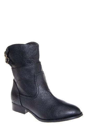 Chinese Laundry Face Off Low Heel Saddle Bootie