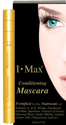 I Max Conditioning and Protecting Lashes Mascara gold. Easy Wash Off. Non-Waterproofing nor Non-Smudged. Excellent with Lash Conditioner.