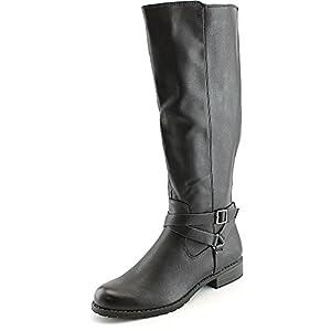 Style & Co Brigyte Wide Calf Women US 5 Black Knee High Boot