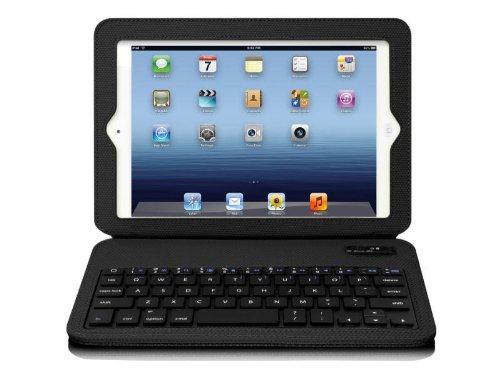 Aluratek Rugged Folio Case with Built in Ultra Slim Bluetooth Keyboard for iPad mini (Slim Folio For Ipad Mini compare prices)