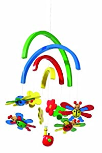 Small Foot Design 7299 - Móvil para Cuna, diseño de Mariquitas de small foot company - BebeHogar.com