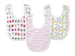 zutano for aden by aden + anais Little Bib  Walk In The Park, 3 Count