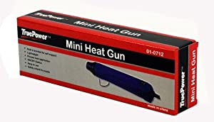 TruePower 01-0712 Mini Heat Gun, Blue