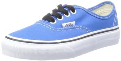 Vans Unisex-Child Authentic Trainers, French Blue/True White, 13.5 UK Child