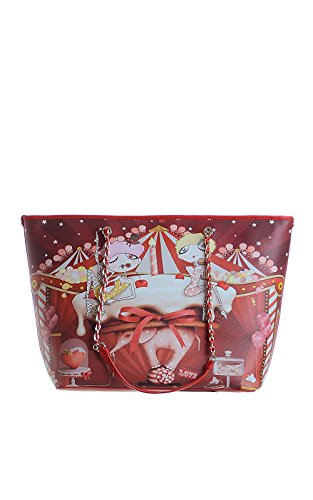 Love Moschino JC4300PP0JK0 090D borsa rosso