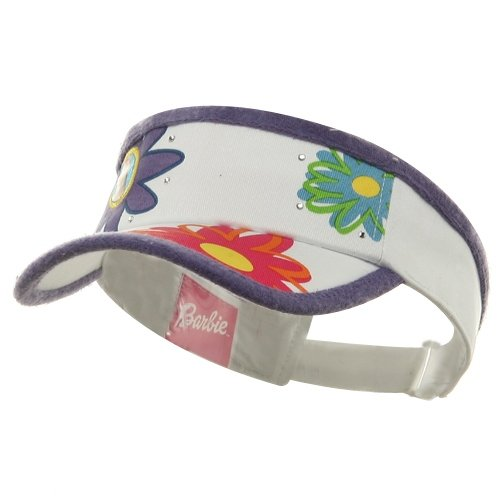 Barbie Visors-Purple White W19S19A