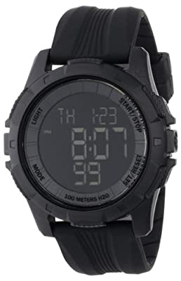 "Freestyle Men's 103316 ""Kampus"" Plastic Sport Watch with Black Band by Freestyle"