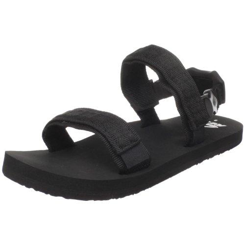 Reef Men'S Convertible Strap Sandal, Black, 10 M Us