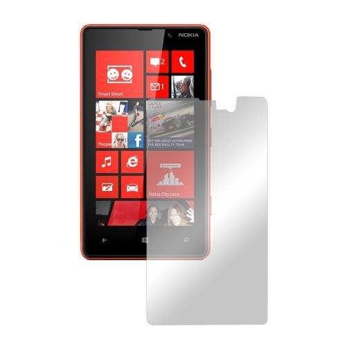 Nokia Lumia 820 Lcd Screen Protector Cover Kit Film Guard W/Mirror Effect