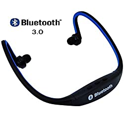Micomy Bluetooth Sports MP3 Music Player for Gym Running Jogging - Blue