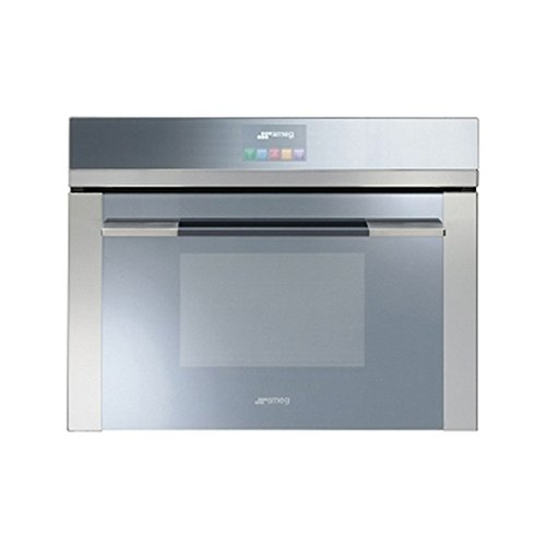Smeg Linea SF4140VC Built In Oven Combination Steam Stainless Steel