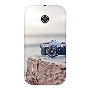 Special Camera on Rock Multicolor Back Case Cover for Moto E