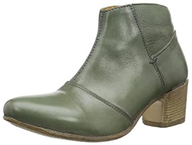 MOMA zip boot 31404-VD Damen Cowboy Stiefel, Grün (tides), EU 39