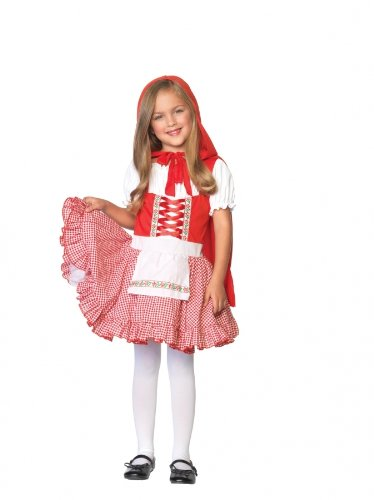Lil Miss Red Costume - Small (Lil Miss Red Costume compare prices)