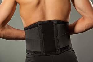 Hochwertige Rückenbandage/Rückenstütze LOREY-LU10008 aus Neopren S