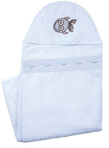 Kushies Hooded Towel, Blue