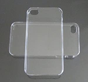 DIY Crystal Clear Hard Snap-on Cover Case for Apple Iphone 4/4s --- By Pixiheart by Pixiheart