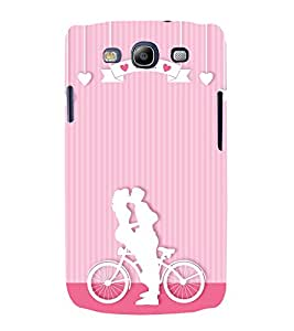Lovely Romance 3D Hard Polycarbonate Designer Back Case Cover for Samsung Galaxy S3 :: Samsung Galaxy S3 i9300