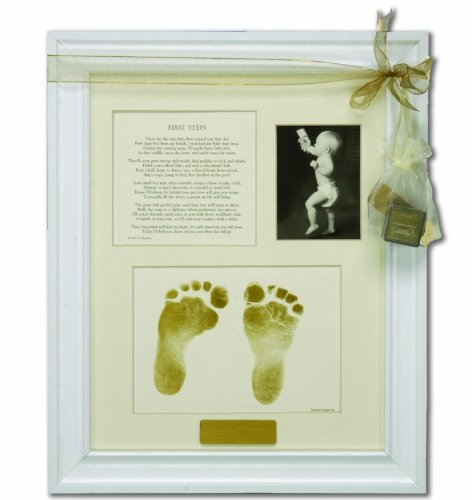 The Grandparent Gift Co. First Steps Keepsake Frame