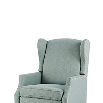 Vander Push Back Recliner Blue See below