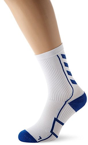 Hummel Calzini corti mod. Tech Indoor Socks Low Bianco Bianco/true blue 12