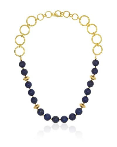 Jardin Single Strand Lapis Necklace As You See