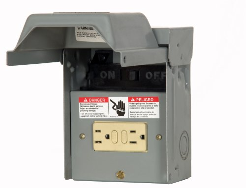 Siemens WF2060GFCI 60 Amp Fusible AC Disconnect with GFI