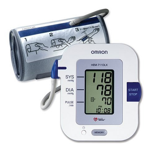 Image of Omron HEM-711 DLX Automatic Blood Pressure Monitor with Comfit Cuff & FREE MINI TOOL BOX (fs) (B00820Y74K)