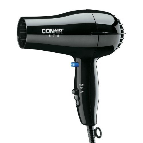 Conair 1875W Black Hair Dryer Blowdryer 247BW (Hospitality Hair Dryer compare prices)