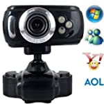 3 LED C�mara Web Cam Webcam 16.0M P�x...