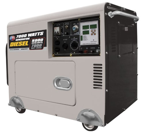 All power america apg 3203 diesel portable 5000 7000w generator review power up generator - Diesel generators pros and cons ...