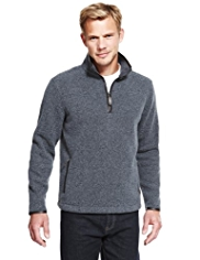 Blue Harbour Heritage Half Zip Fleece Top