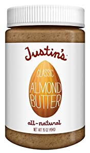 Justin's Nut Butter Almond Butter, Classic, 16 Ounce