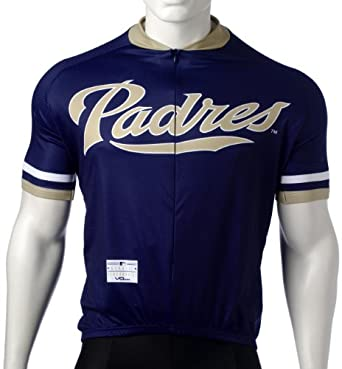 MLB San Diego Padres Mens Cycling Jersey by VOmax