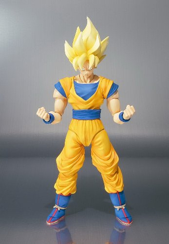 "Bandai Tamashii Nations Super Saiyan Son Goku ""Dragonball Z"" S.H. Figuarts Action Figure (Discontinued by manufacturer)"