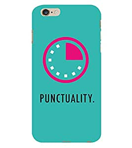 Punctuality 3D Hard Polycarbonate Designer Back Case Cover for Apple iPhone 6 :: Apple iPhone 6