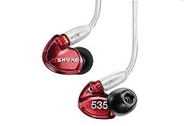 【国内正規品】SHURE カナル型 高遮音性イヤホン SE535 Special Edition レッド SE535LTD-J
