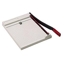 7520002247620 Paper Trimmer, 10 Sheets, Steel Base, 12\