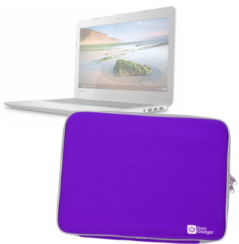 duragadget-high-quality-neoprene-laptop-case-for-toshiba-cb35-a3120-chromebook-purple